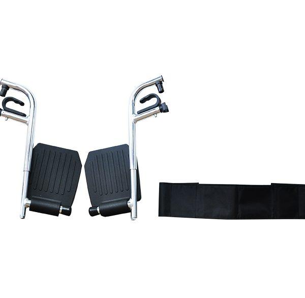detachable footrest